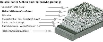 Hofgut Mauer Dachbegrunung Intensivsubstrat